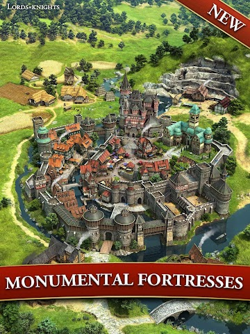 android Lords & Knights - Strategy MMO Screenshot 1