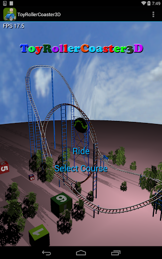 Toy RollerCoaster 3D