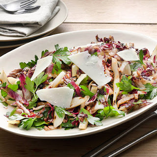 Grilled �Tricolore� Salad with Radicchio, Fennel and Parsley Recipe