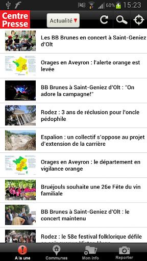 Centre Presse Aveyron