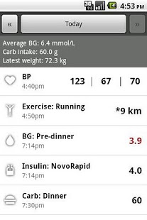 Glucool Diabetes - screenshot thumbnail