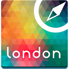 London Offline Map Guide Hotel icon
