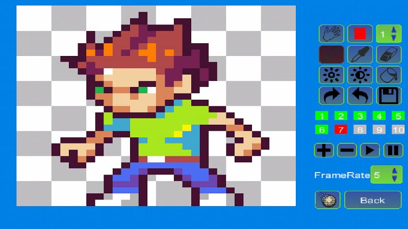Pixel Animator:GIF Maker Screenshot 8