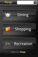 Screenshot of Purqz Mobile App