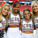 UCONN Cheerleaders logo