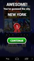 Screenshot of Guess the City