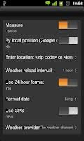 Screenshot of Live Wallpaper Flip Clock