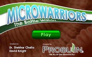 Screenshot of Microwarriors