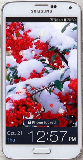 Snow Winter Trees HQ LWP