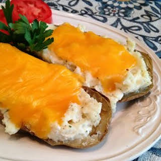 Twice-Baked Ranch Potatoes.