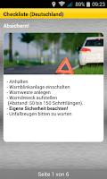 Screenshot of ADAC Pannenhilfe