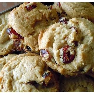 White Chocolate Blackberry Cookies.
