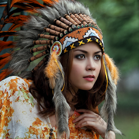by Poetoet Adi - People Portraits of Women