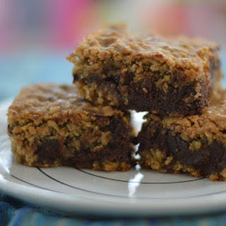 Deep Dish Oatmeal Cookie Bars.