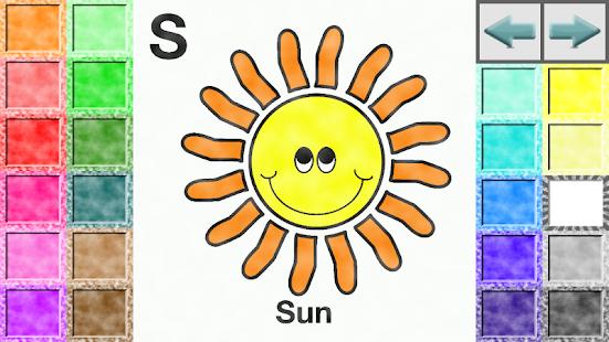 ABC Kids Coloring Book Screenshot Thumbnail