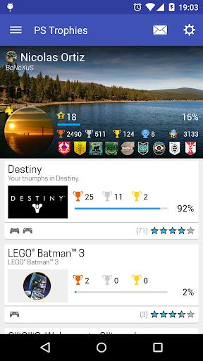 PS Trophies 7.1.3 screenshots 1