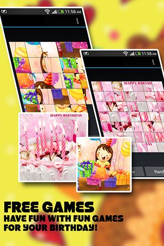 Instant Pic Frames - Birthday