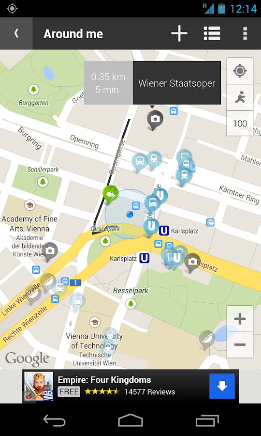 Vienna Mobile - City Map- screenshot