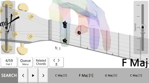Guitar Chord 3D