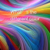 What's the different color