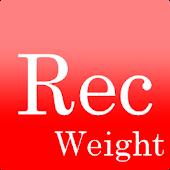 レコーディング Weight