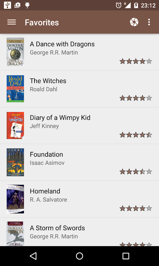 My Library- screenshot