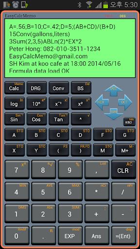 Calculator Memo Free