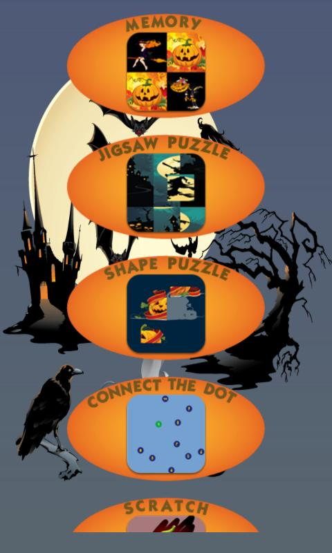 Halloween Games - screenshot