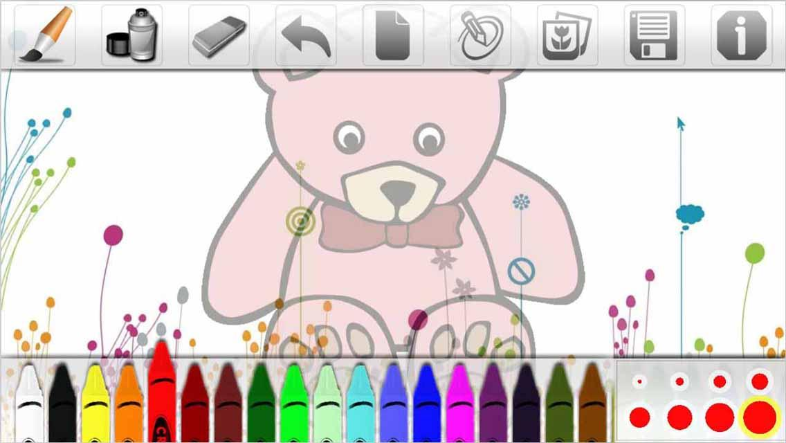 easy drawing for kids screenshot - Picture Drawing For Kids