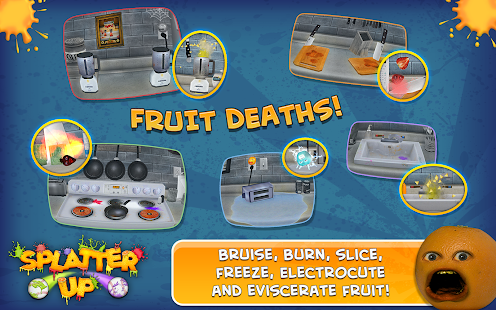 Annoying Orange: Splatter Free- screenshot thumbnail