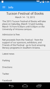Tucson Festival of Books - screenshot thumbnail