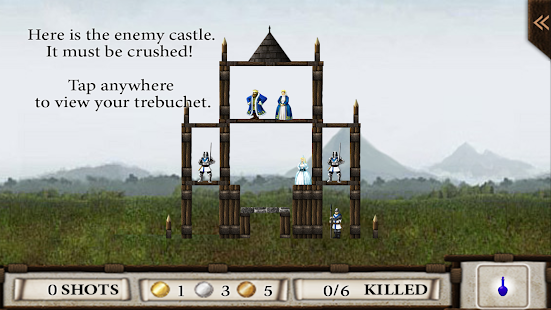 Crush the Castle by Namco - screenshot thumbnail