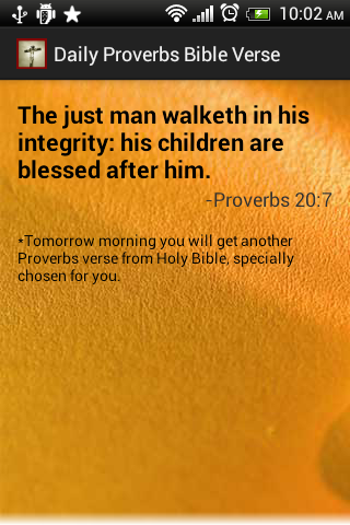 Proverbs Holy Bible Verse Free