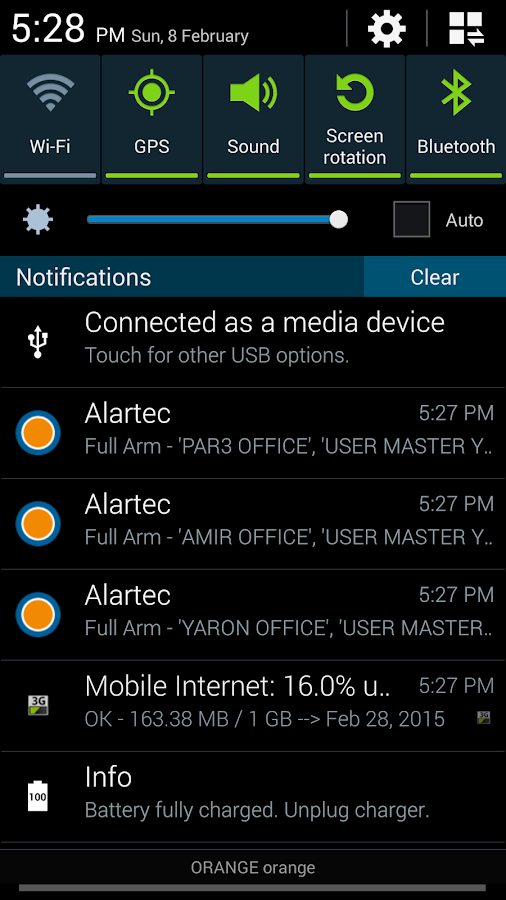 Alartec- screenshot