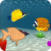 Animated Toddler Puzzles: Fish