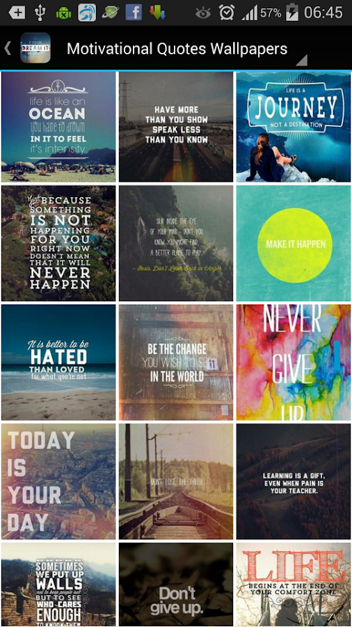 motivational quotes wallpapers android apps on google play