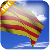 Catalunya Flag Live Wallpaper
