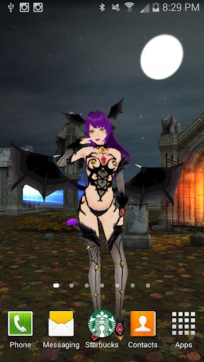 Sexy Vampire 3D Live Wallpaper