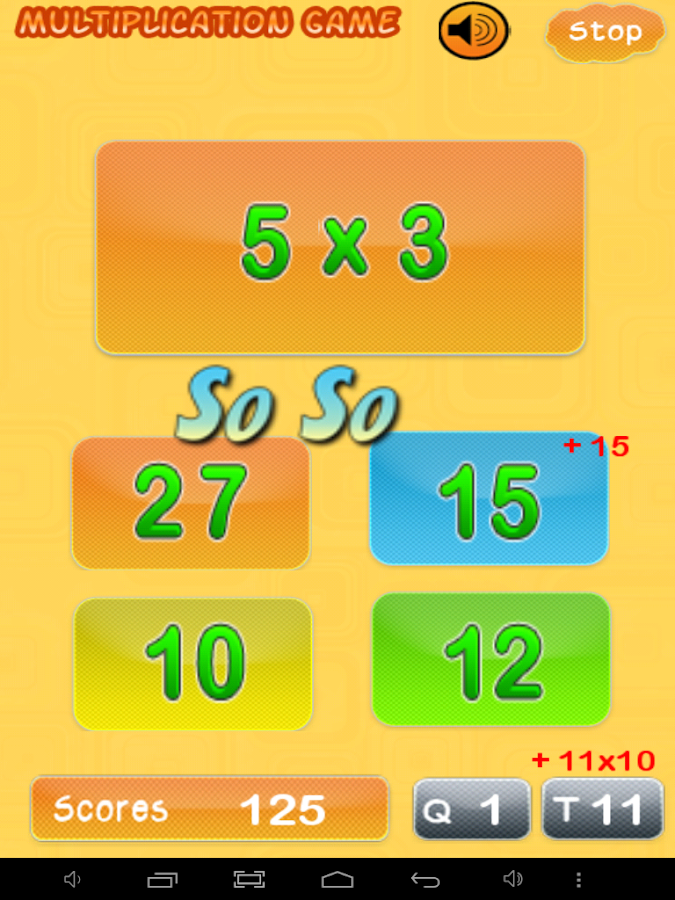 Multiplication - Times Tables - Android Apps on Google Play