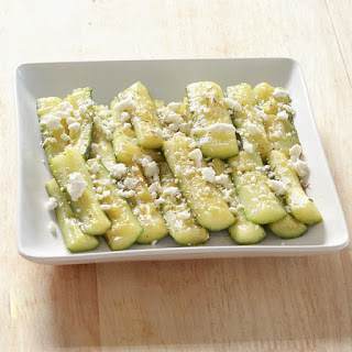 Zucchini With Garlic & Olive Oil.