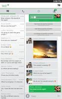 Screenshot of textPlus Free Text + Calls