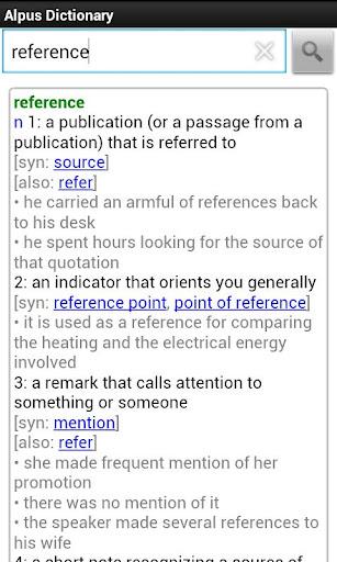Alpus Dictionary Free