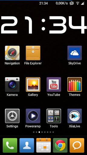 Big Clock Widget HD