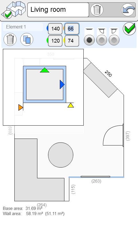 Smart Plan - interior planing- screenshot