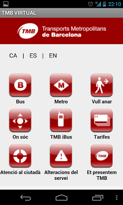 infoTMB - screenshot