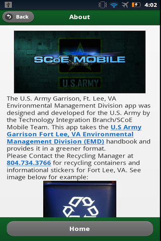 Fort Lee EMD - screenshot