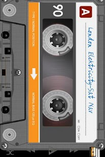 Retro Tape Deck mp3 player - screenshot thumbnail