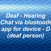 "Deaf-Hearing chat. ""D""-trial."