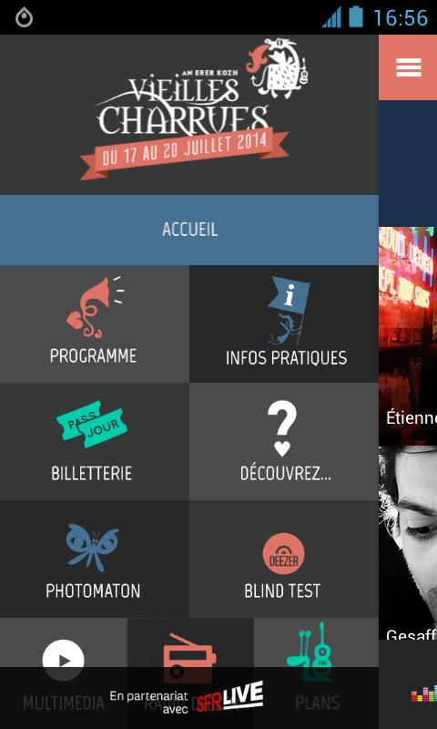 Les Vieilles Charrues 2014 - screenshot