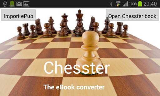 Chesster - Interactive reader